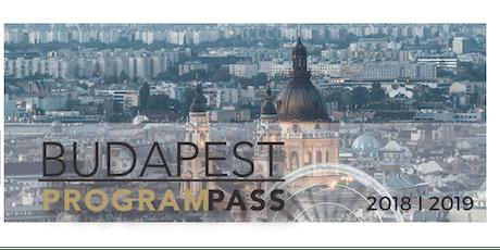 Budapest ProgramPass tickets