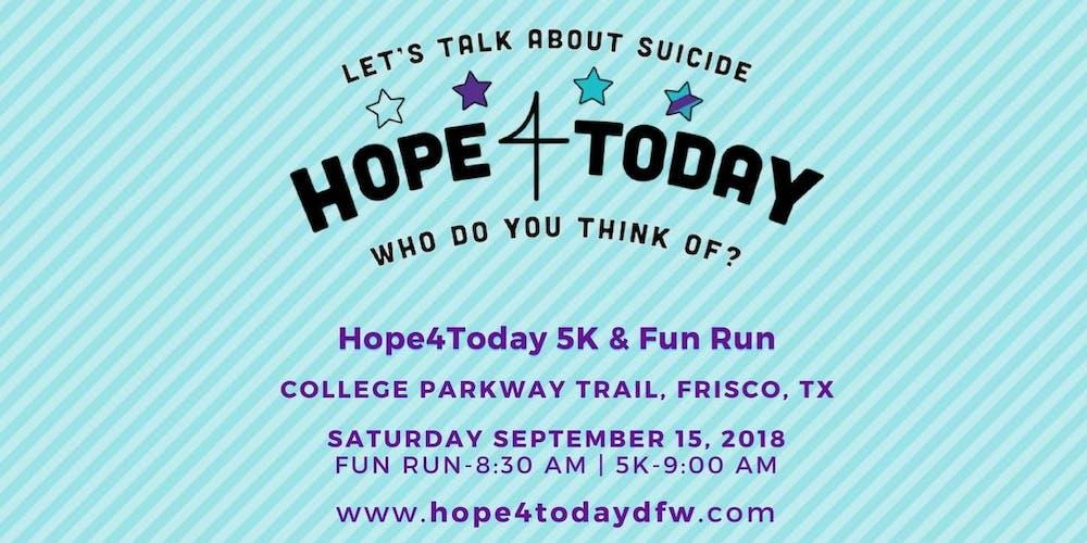 2nd Annual Hope4Today 5K & Fun Run