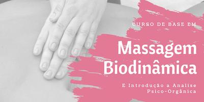 Curso de Base em Massagem Biodinâmica e Introdução à Análise Psico-Orgânica