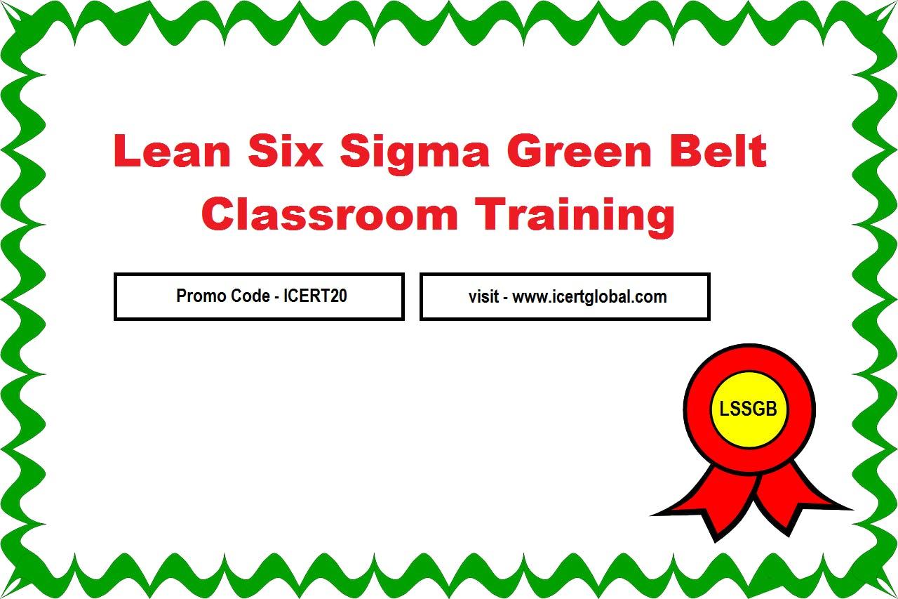 Lssgb Certification Classroom Training In Houston Tx 28 Aug 2018