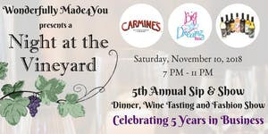 Wonderfully Made4You 5th Annual Sip & Show | Dinner,...