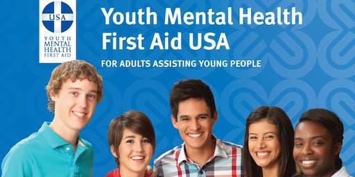 Youth Mental Health First Aid - Jul 27