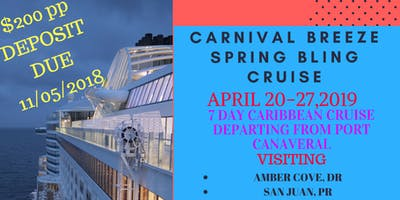 SPRING BLING CRUISE PARTY