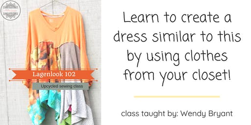 Online Sewing Classes - Upcycled