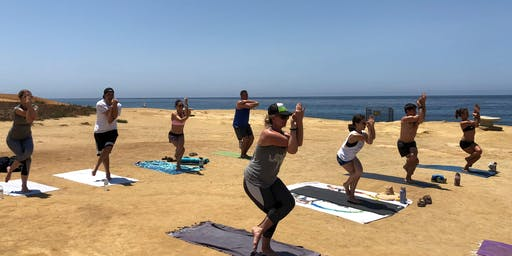 Wednesday Yoga at Noon - Sunset Cliffs - Ocean Beach (Donation Based)