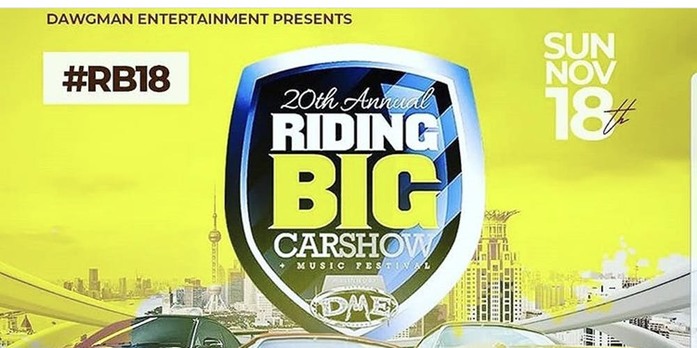 Th Annual Riding Big Carshow Tickets Sun Nov At PM - Central florida fairgrounds car show