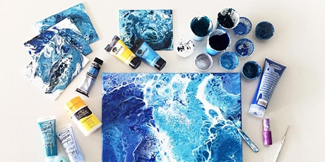 Create Stunning Abstract Art with Acrylic Pour! tickets