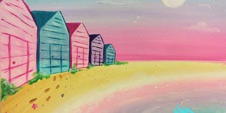 Brighton Beach Huts (2hr Paint & Sip) - BYO Food & Drink tickets