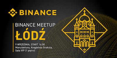 Binance Meetup ŁÓDŹ