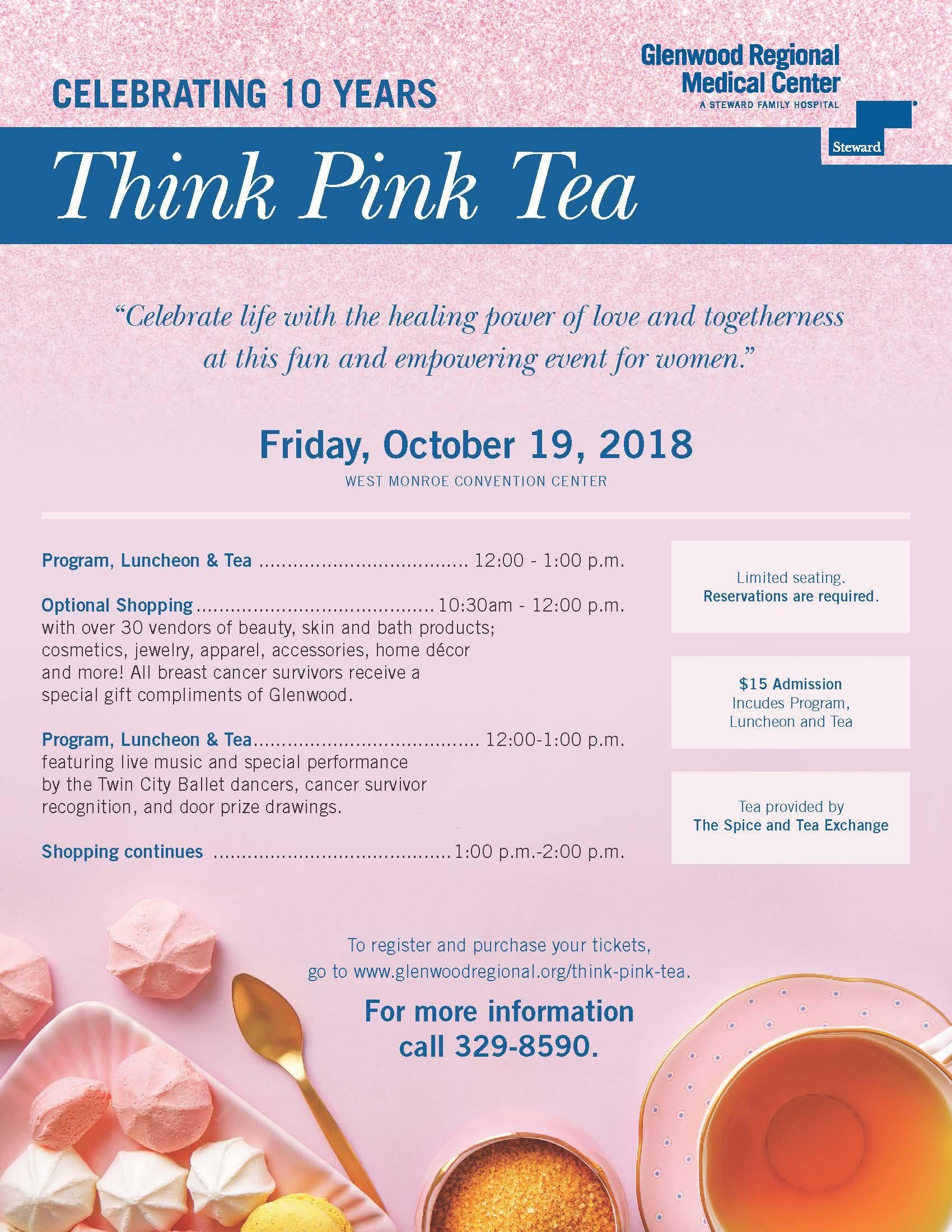 Think Pink Tea 2018