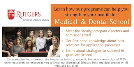 SGS, Newark Health Science Campus, Rutgers Biomedical and