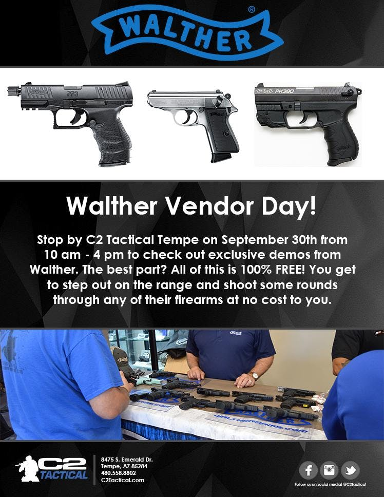 Walther Arms Demo Day - Tempe