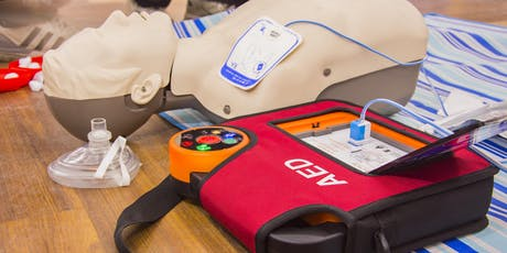 CPR and Automated External Defibrillation - £50pp tickets