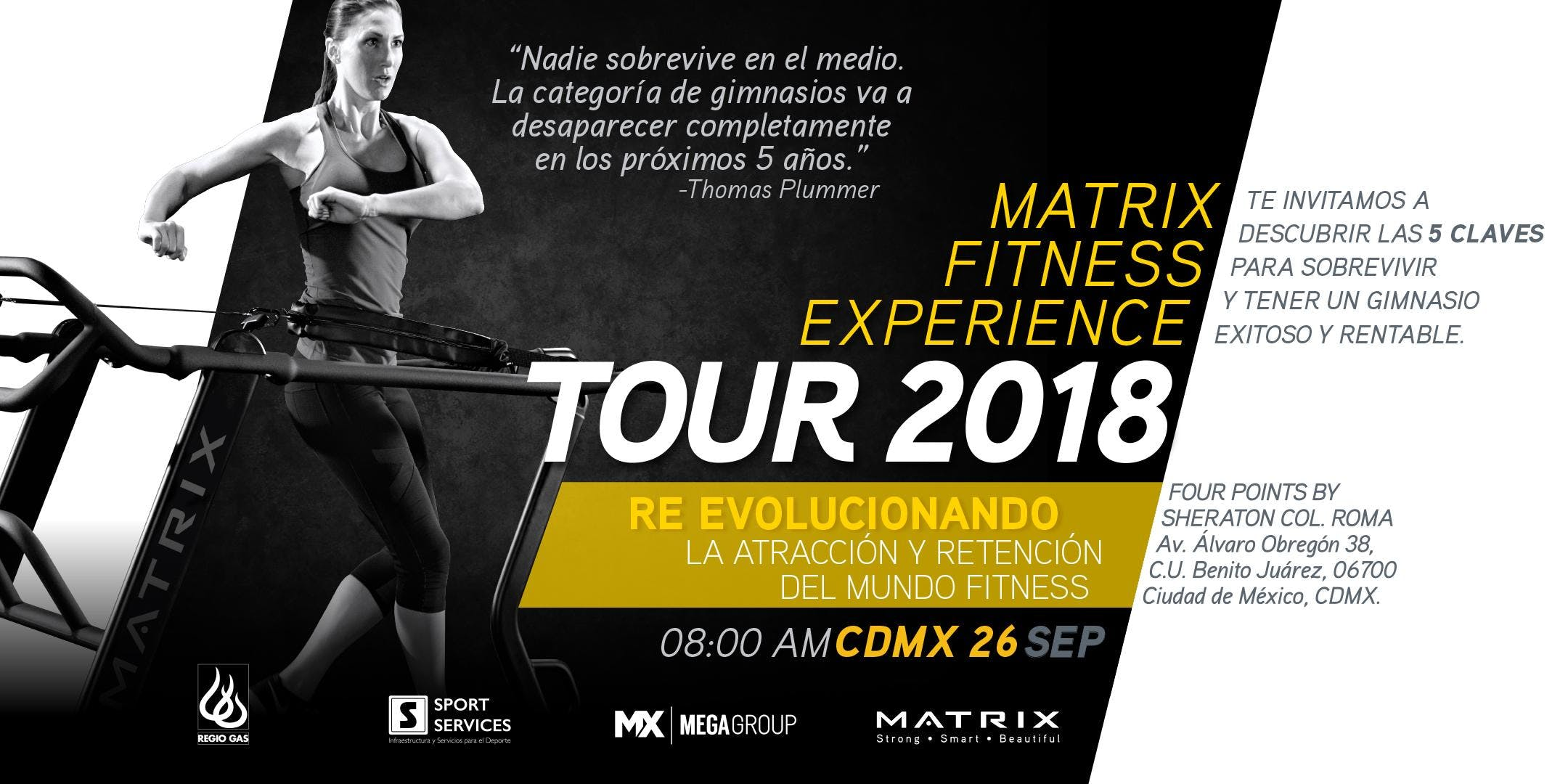 Matrix Fitness Experience Tour CDMX
