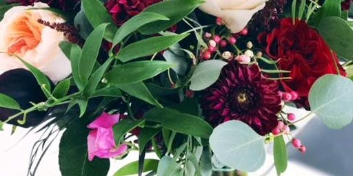 Dec 12th Arrangement Fl Focus Holiday Greenery 2 Cles Available