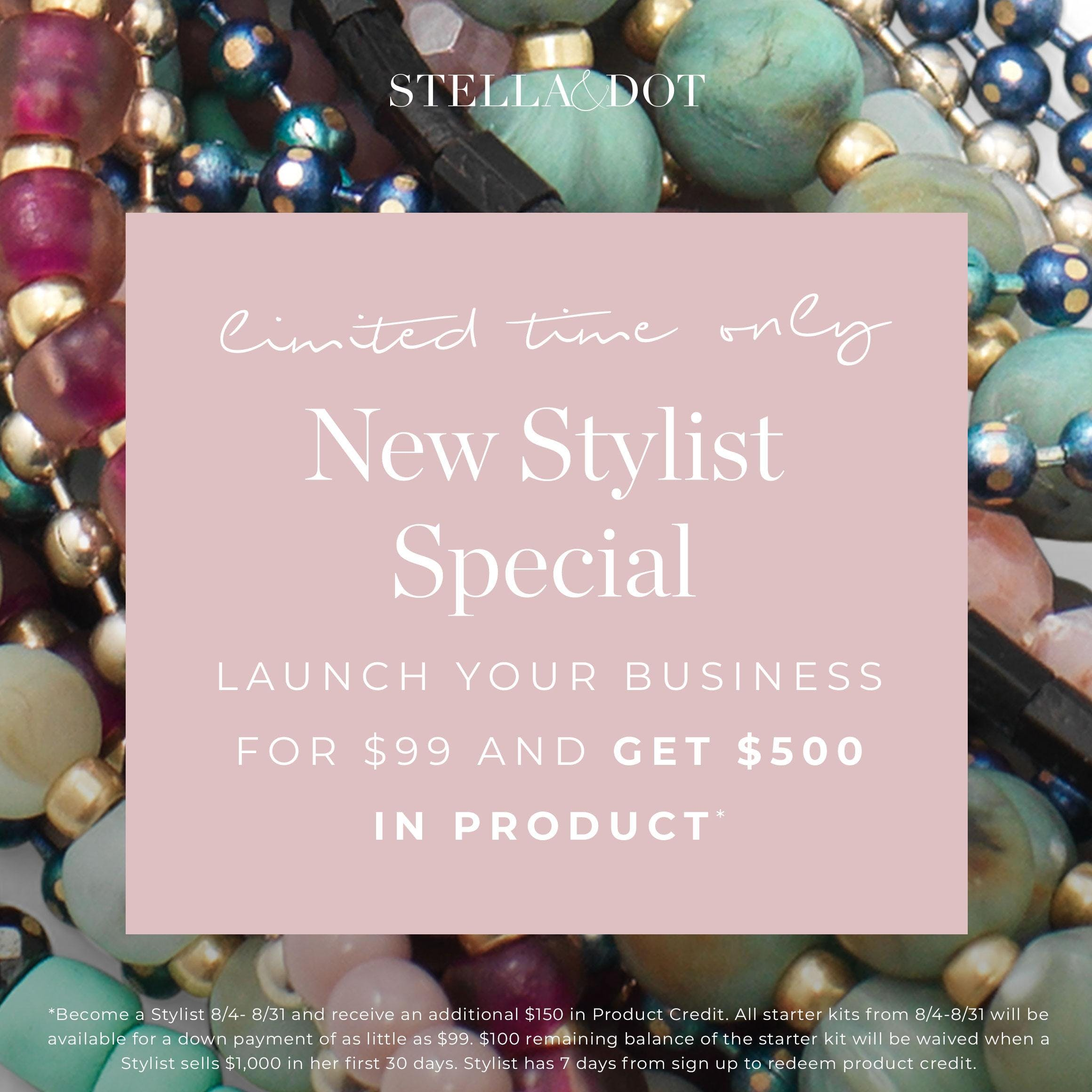 We're Hiring!! Meet Stella & Dot and learn mo