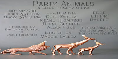 Party Animals: A Free Comedy Show