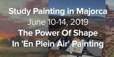 Fine Art Painting Course: The Power of Shape in Plein Air Painting