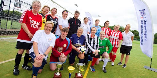 Dick, Kerr Ladies Cup - 3rd Annual National Womens Walking Football Tournament