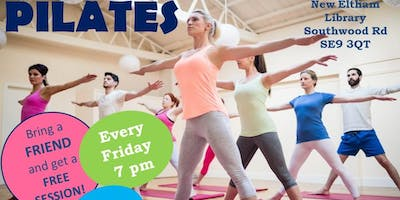 Pilates in New Eltham Library