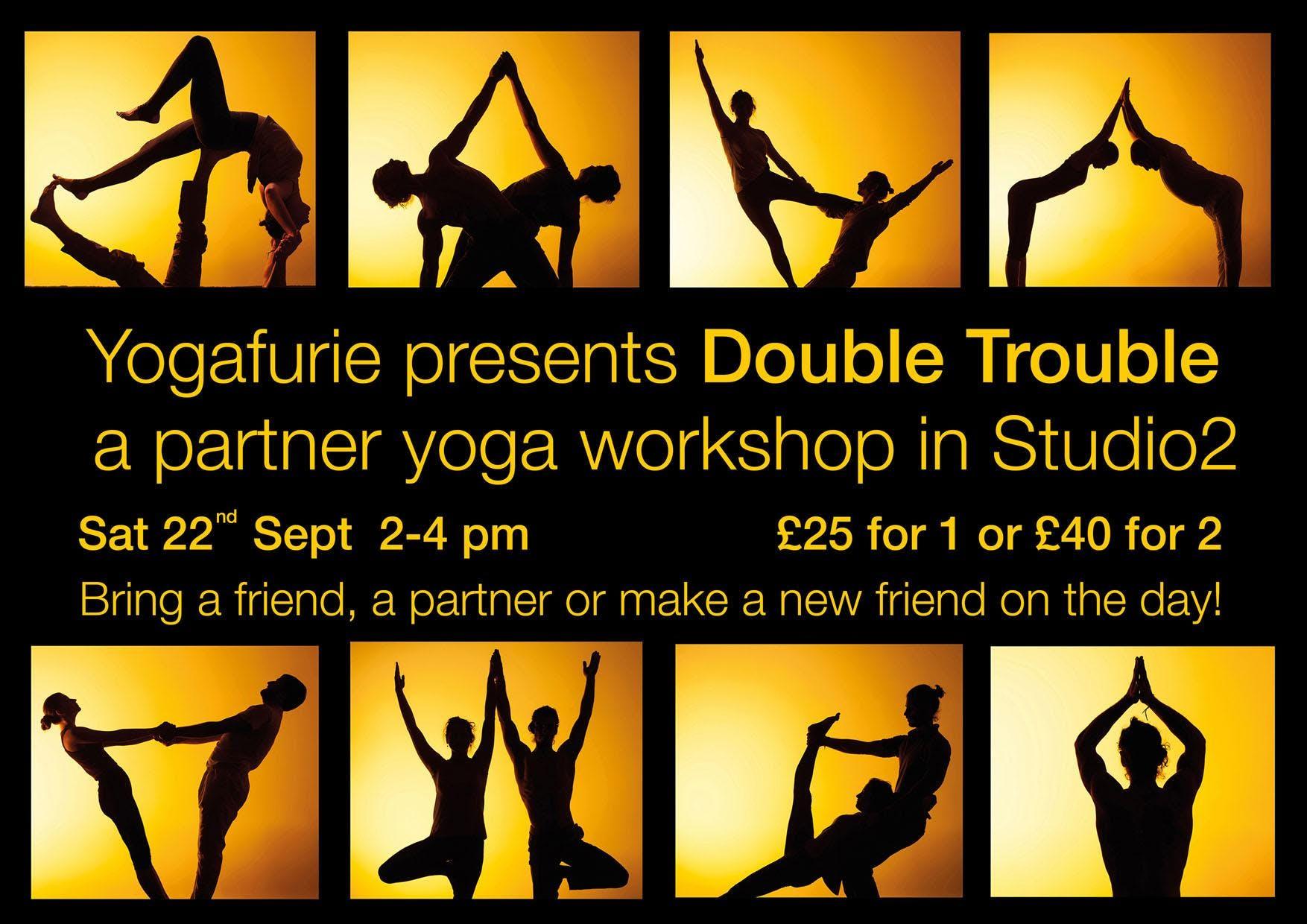 Double Trouble Partner Yoga Workshop