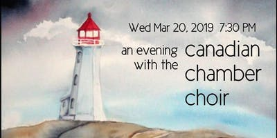 an evening with the canadian chamber choir