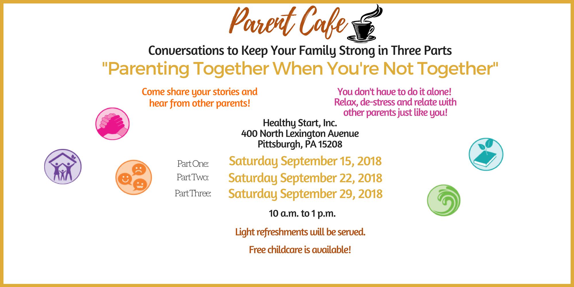 Be Strong Parent Cafe Series 3: Parenting Tog