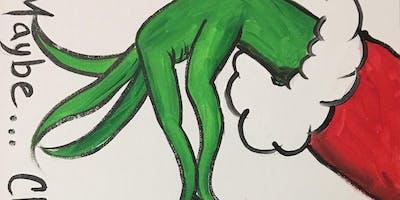 A Grinchy Christmas Me & Mini Me - Hollabaugh Bros. Inc. Paint-Along