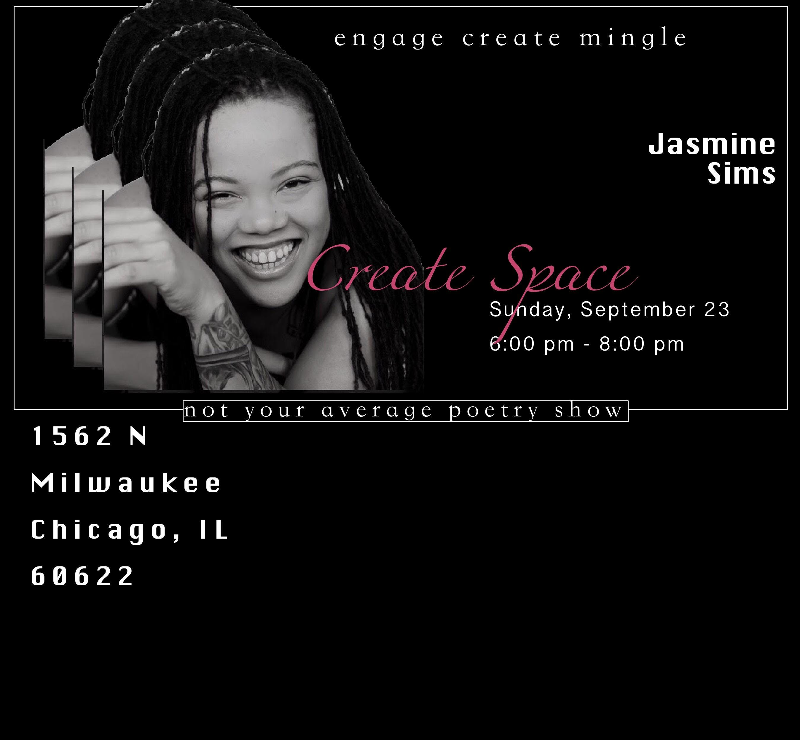 Create Space with Jasmine Sims