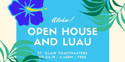St. Clair Toastmasters Open House Luau