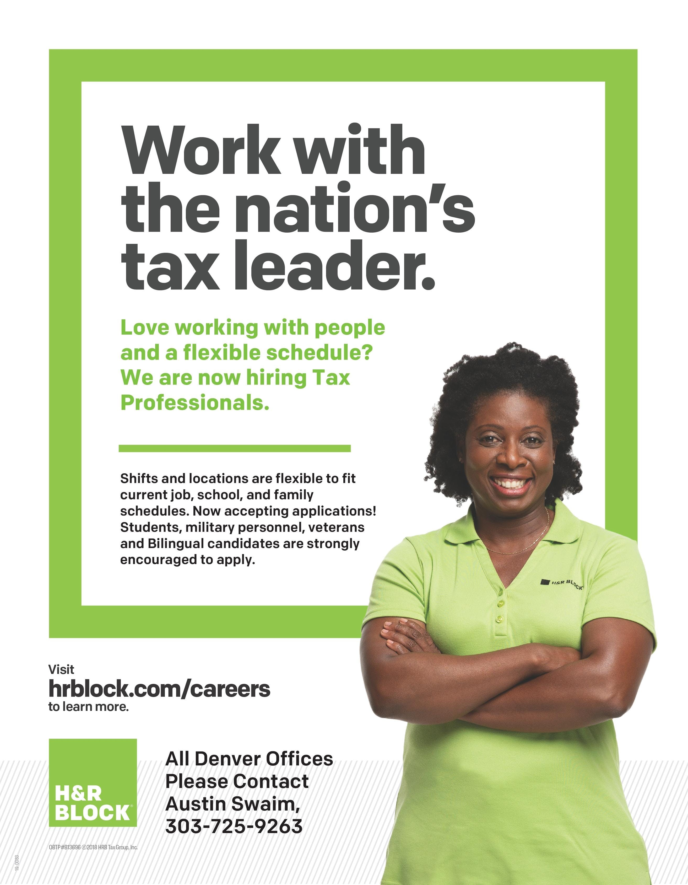 H R Block Income Tax Course Open House 23 Aug 2018