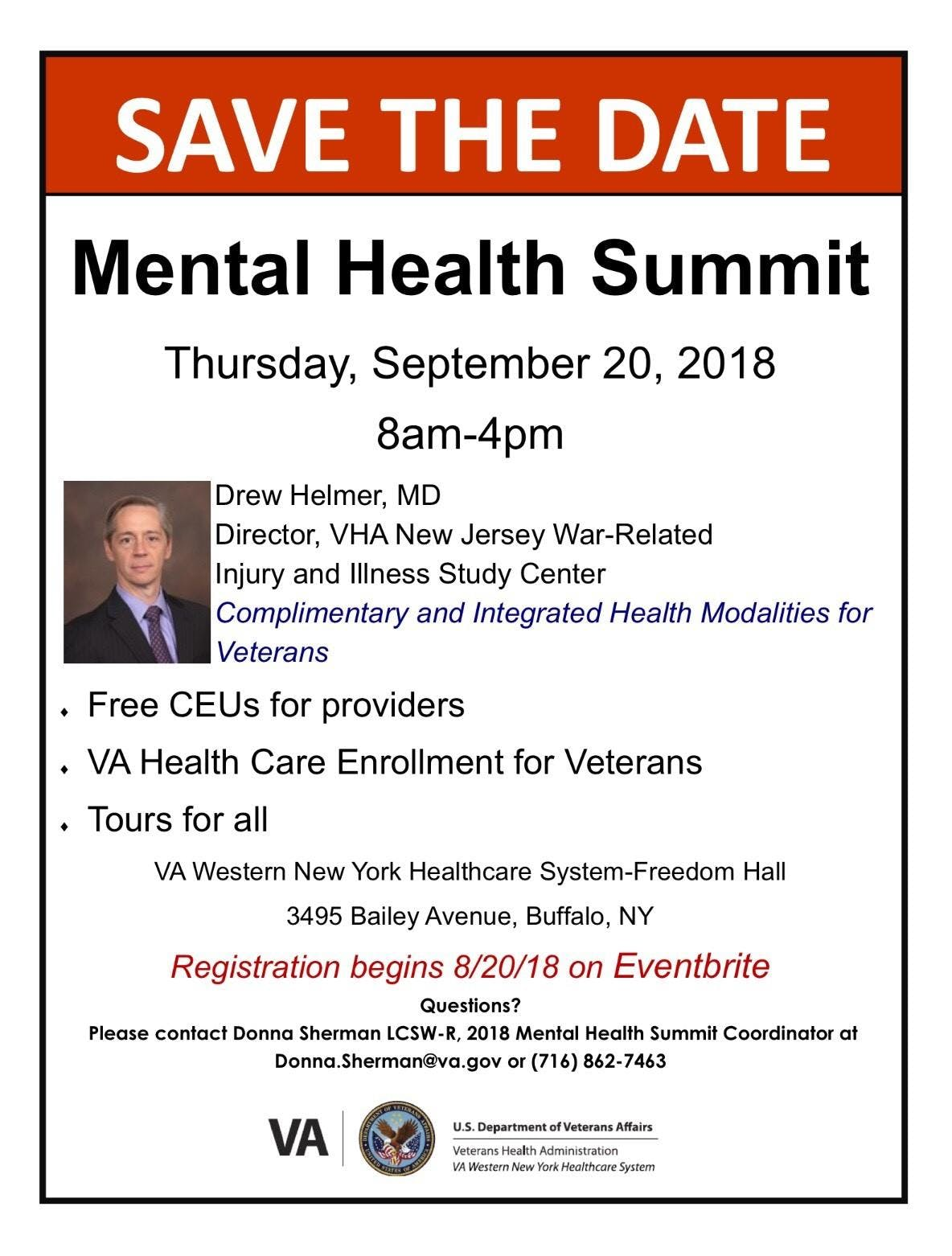 2018 VHA Western New York Mental Health Summi