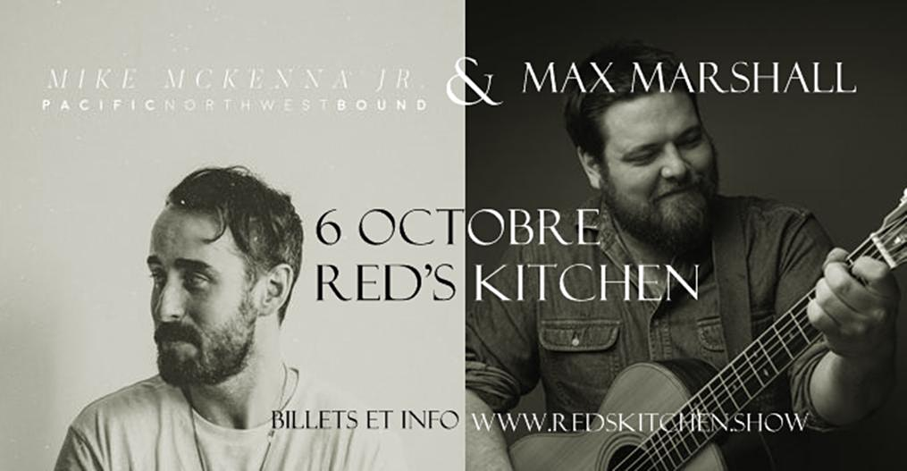 Mike McKenna Jr and Max Marshall @ Red's Kitchen