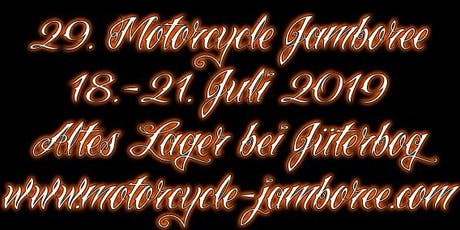 29. Motorcycle Jamboree 2019 Tickets