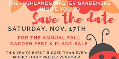 Garden Festival and Plant Sale - Let it Grow!
