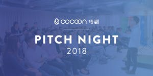 CoCoon Pitch Night Semi-Finals Fall 2018 (13/9)...