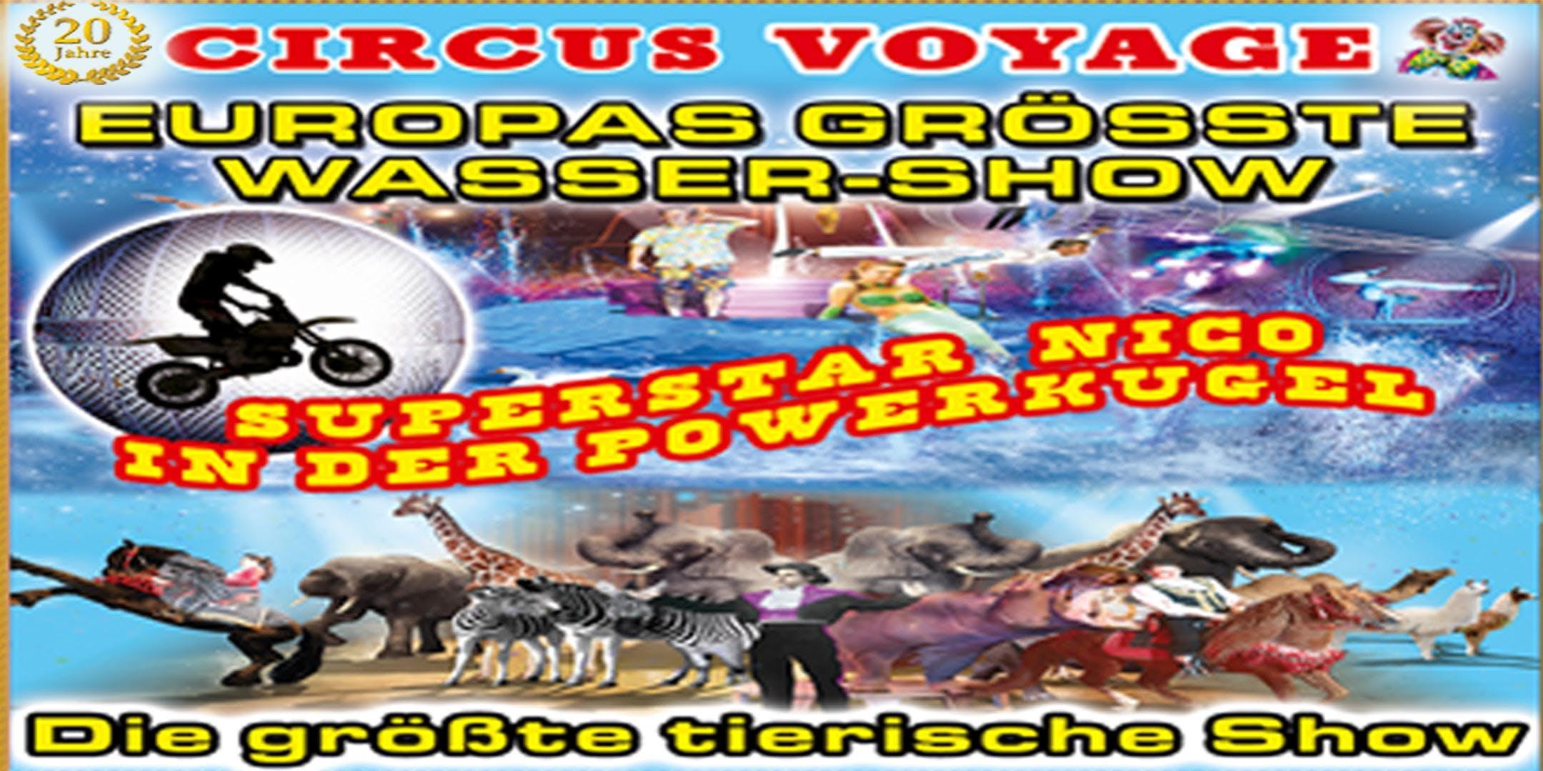 Circus Voyage Familienvorstellungen in Regens