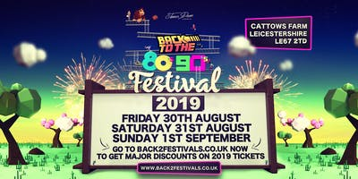 Back to the 80s & 90s Festival 2019