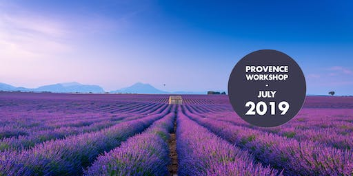 Provence's Lavender Paradise photography workshop!