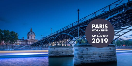 Paris Photo Workshop, the most romantic city of the world!