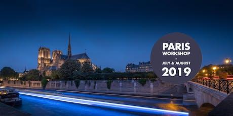 Paris Photo Workshop, the most romantic city of the world! billets