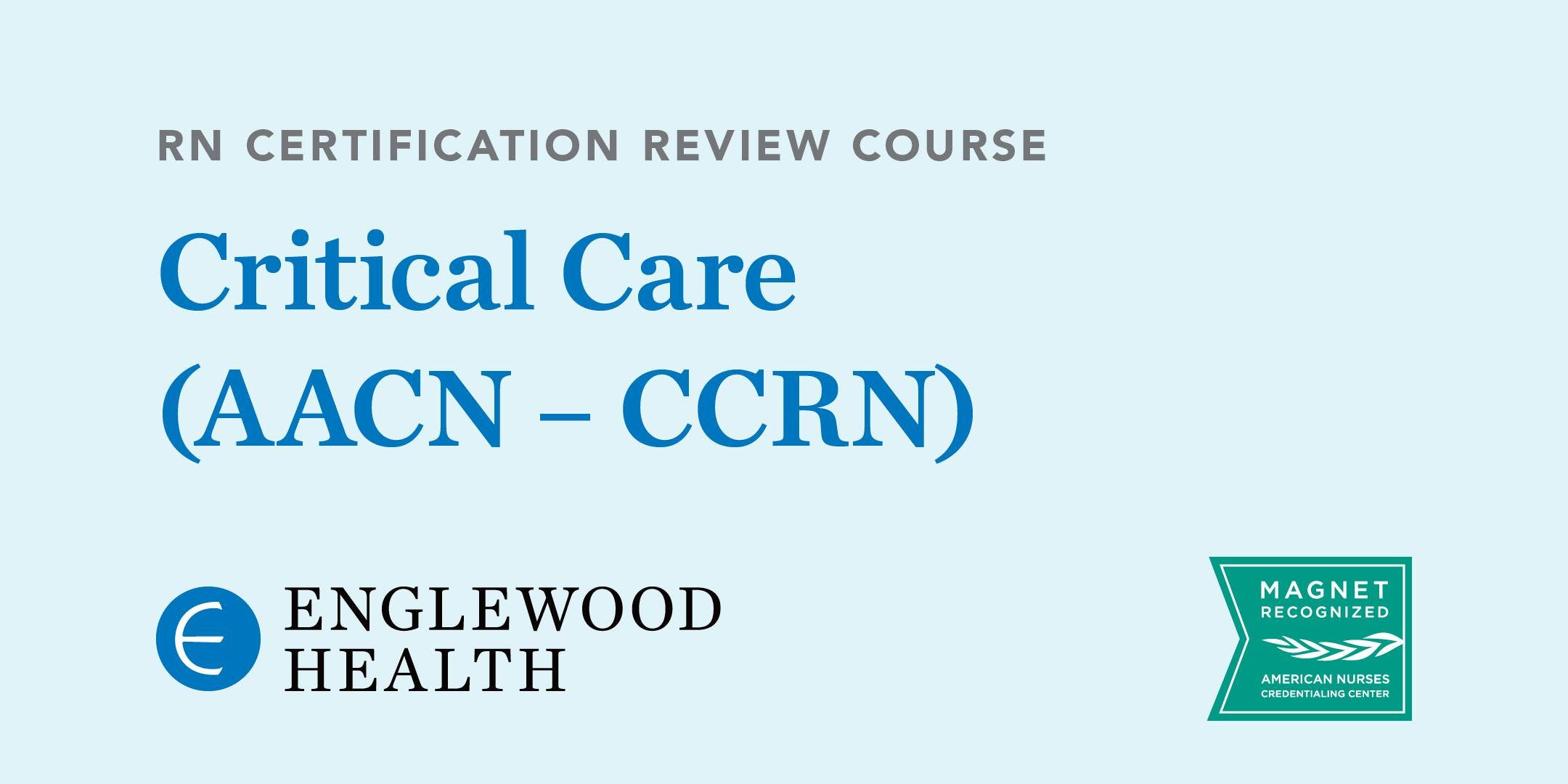 Rn Certification Review Course Critical Care Aacn Ccrn 15 Sep