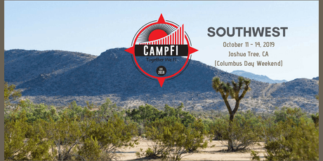 CampFI: Southwest 2019 Oct 11-14 - Columbus Day Weekend tickets