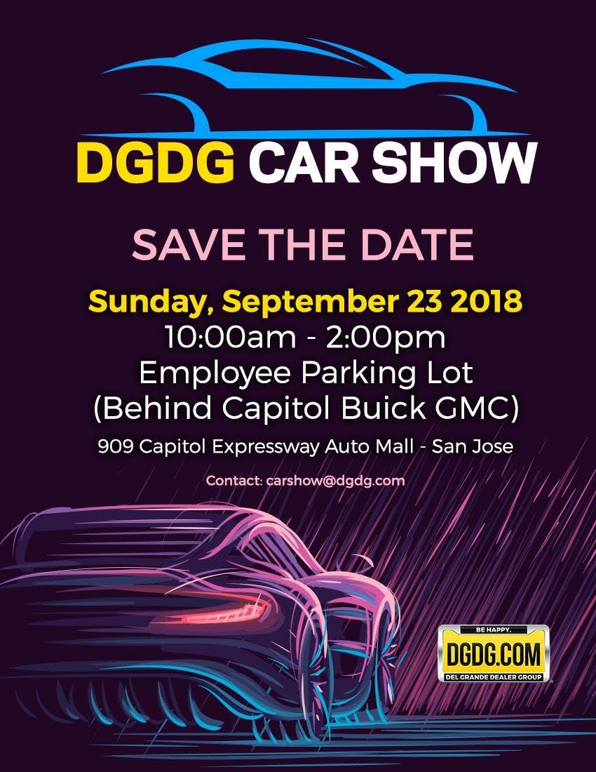 DGDG Car And Bike Show SEP - San jose car show 2018