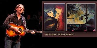 An Evening with Joe Crookston on The Bowery Stage - his music and his art!