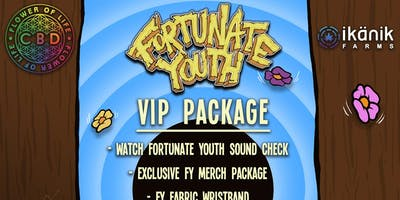 WEST IN PEACE TOUR VIP PACKAGE - San Luis Obispo, CA - 11/18/18