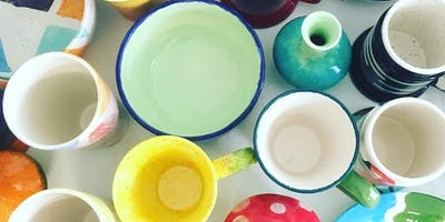Pottery Painting and Craft Beer