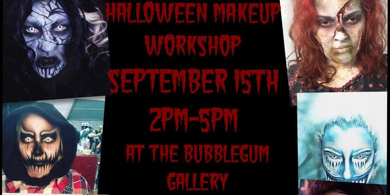Halloween Makeup Workshop