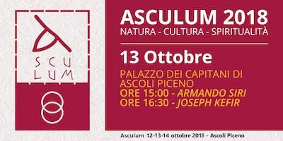 Asculum: Natura, Cultura, Spiritualità - Siri e Kefir - 13 Ottobre 2018