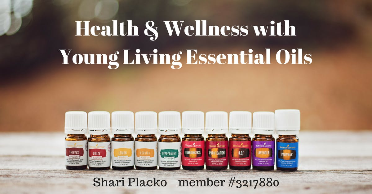 Health and Wellness with Essential Oils
